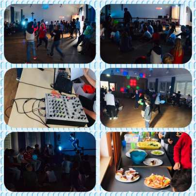Sommerparty Saal